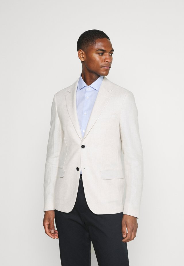 NAPLES SLIM - Blazer jacket - sand