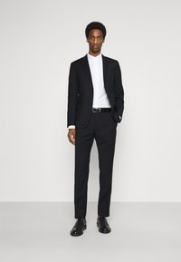 Calvin Klein Tailored - TONAL GRID CHECK EXTRAFINE SUIT - Suit - navy - 1