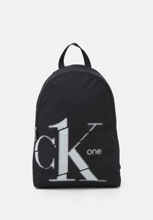 ROUNDED BACKPACK - Rucksack - black