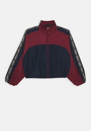 ONIKA - Training jacket - bordeaux/dark blue