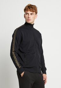 HUGO - DASAYO - Sweatjacke - black/gold - 0