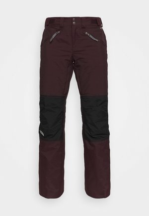 ABOUTADAY PANT  - Pantalón de nieve - rootbn/black