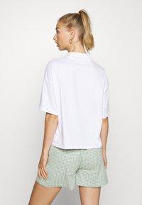Monki - INA 2 PACK  - Basic T-shirt - white light - 2
