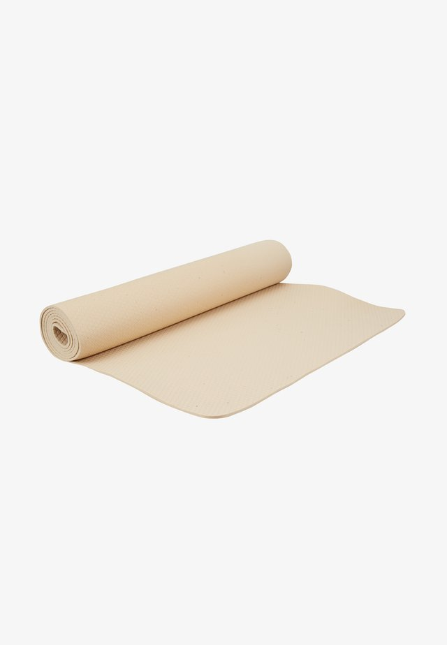 EXERCISE MAT 4MM - Fitness/yoga - beige