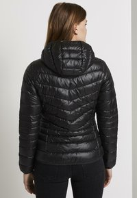 TOM TAILOR DENIM - LIGHT PADDED JACKET - Light jacket - deep black - 2