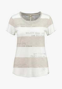 Key Largo - Print T-shirt - sand - 0