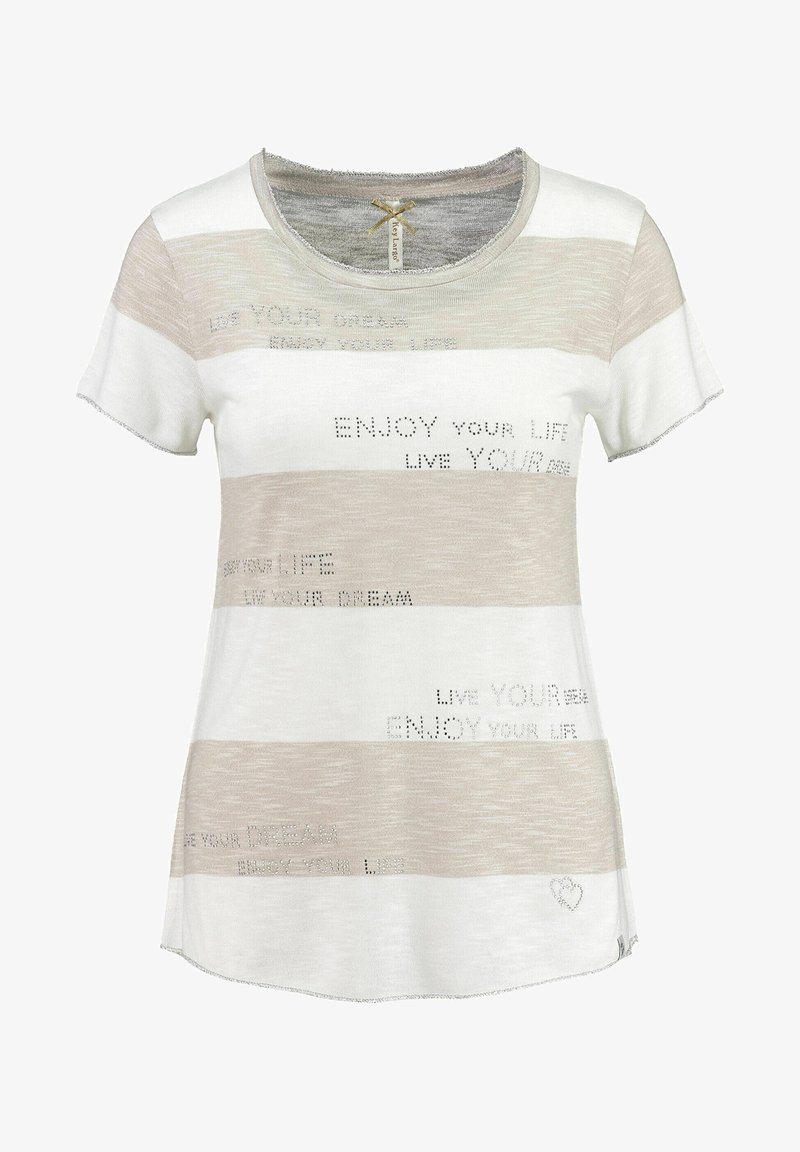 Key Largo - Print T-shirt - sand