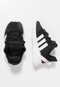 adidas Originals - PATH RUN  - Trainers - clear black/footwear white/shock red - 0