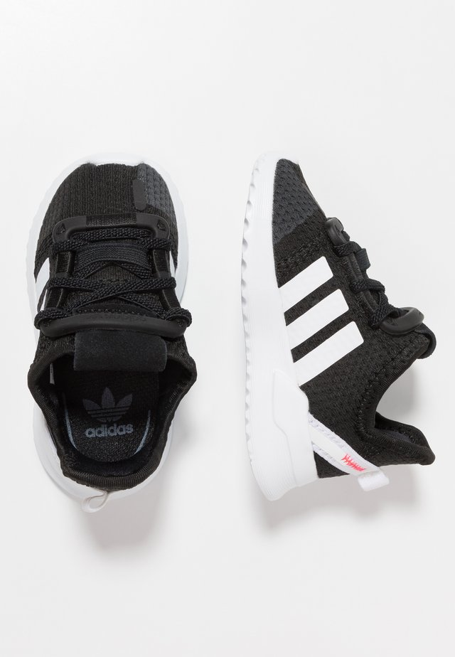 PATH RUN  - Trainers - clear black/footwear white/shock red