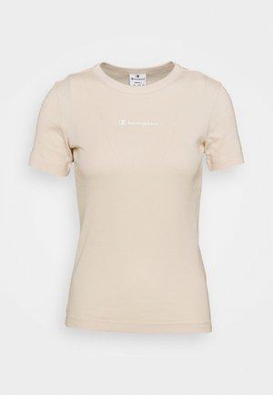 CREWNECK - T-shirt basic - sand