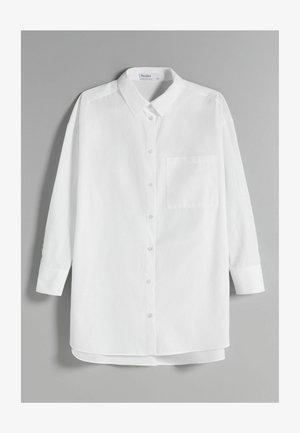OVERSIZE LANGARM - Košile - white