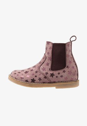 CHELYS NARROW FIT - Classic ankle boots - dark pink