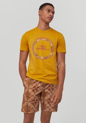 TRIBE - Print T-shirt - harvest gold