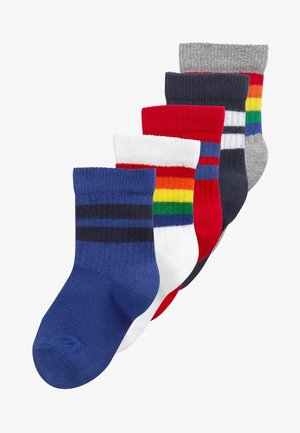 5 PACK - Socks - red