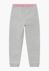 Blue Seven - KIDS HEARTS  - Tracksuit bottoms - nebel - 1