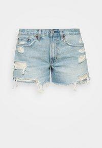 Abercrombie & Fitch - Denim shorts - blue denim - 3