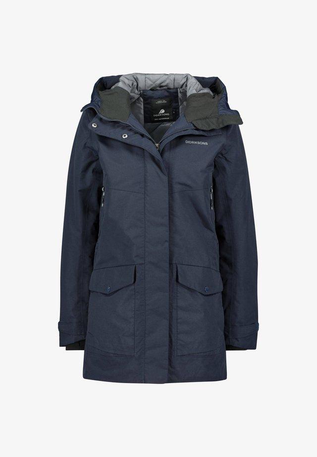 FRIDA - Outdoor jacket - dunkelblau
