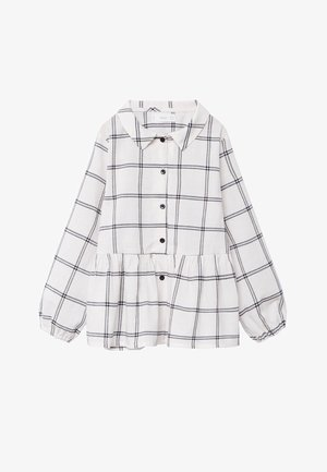COOL - Button-down blouse - blanc cassé