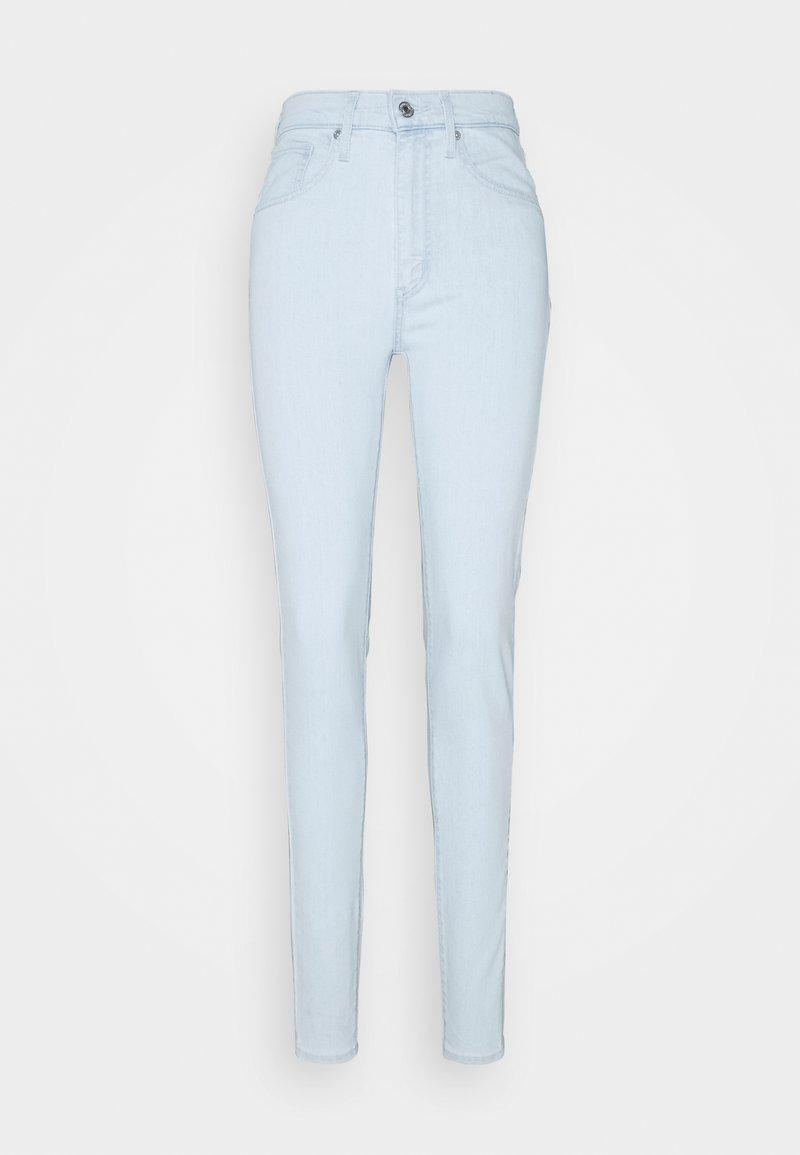 Levi's® - MILE HIGH SUPER SKINNY - Jeans Skinny - light indigo/flat finish