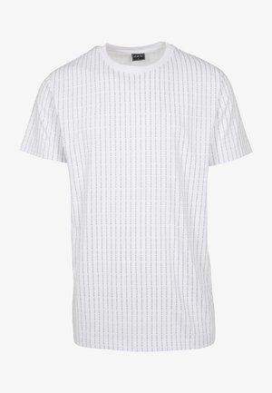 FUCK YOU TEE - Print T-shirt - white