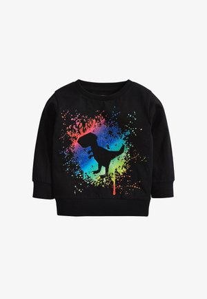 DINO SPLAT  - Long sleeved top - black