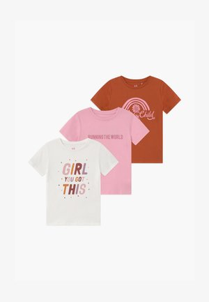 PENELOPE SHORT SLEEVE 3 PACK - Print T-shirt - multi-coloured