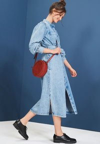 Next - Denim dress - blue - 0
