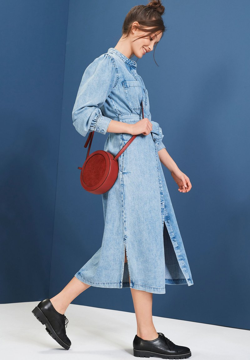 Next - Denim dress - blue