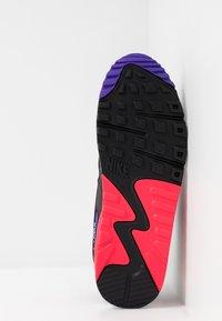 Nike Sportswear - AIR MAX 90 ESSENTIAL - Trainers - white/red orbit/psychic purple/black - 4