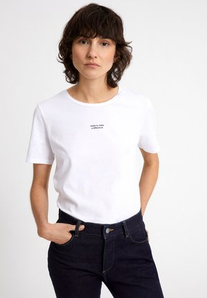MARAA DIFFERENCE - Print T-shirt - white