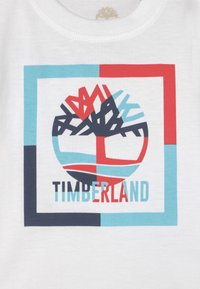 Timberland - SHORT SLEEVES  - Print T-shirt - white - 2
