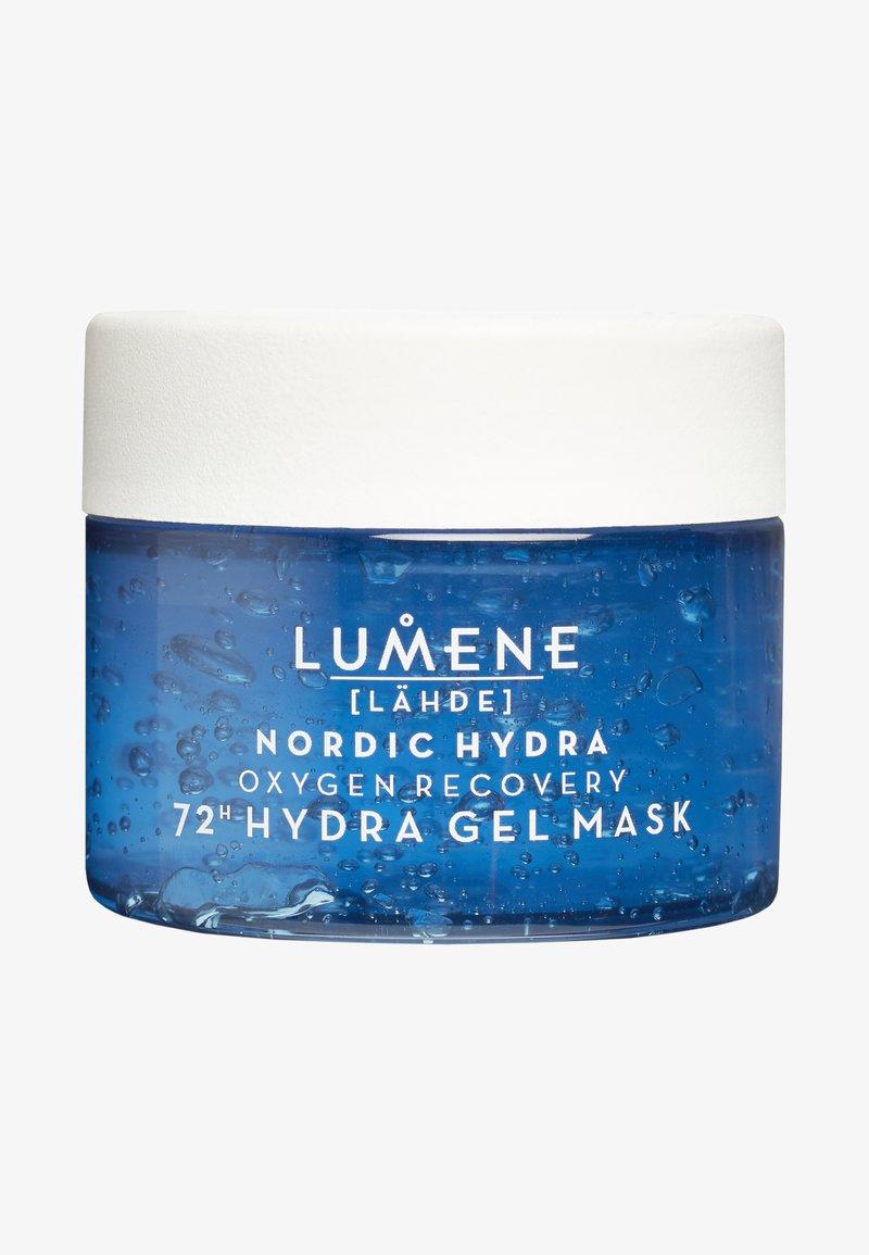 Lumene - NORDIC HYDRA [LÄHDE] OXYGEN RECOVERY 72H HYDRA GEL MASK - Face mask - -