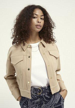 Summer jacket - mushroom brown