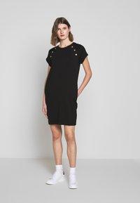 Barbour International - HURRICANE DRESS - Sukienka z dżerseju - black - 1