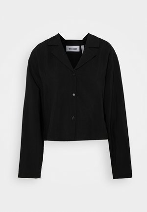 FILIPPA BLOUSE - Button-down blouse - black