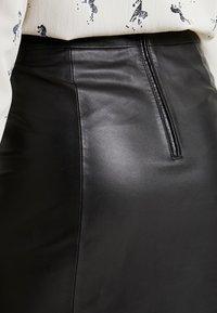 Selected Femme Tall - SLFARDEE SKIRT - Áčková sukně - black - 5