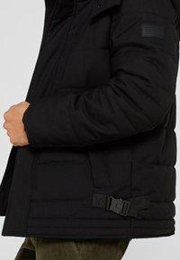 Esprit - MIT VARIABLER KAPUZE - Winter jacket - black - 5