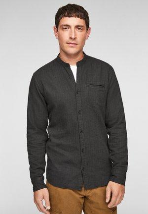 Shirt - black melange