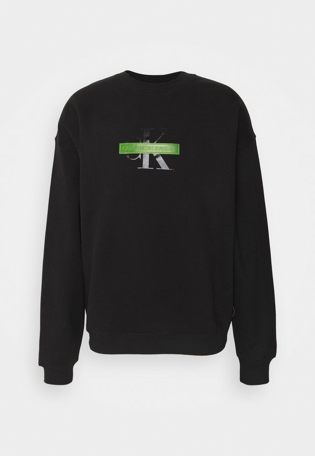 CENSORED RELAXED FIT - Sweatshirt - black