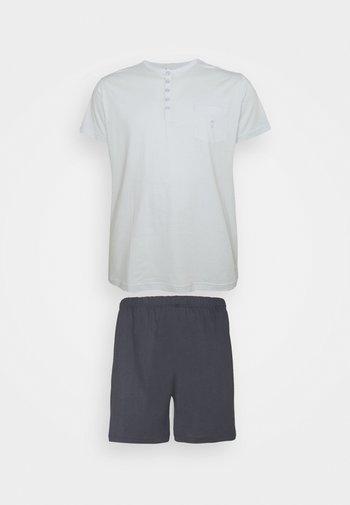 Pyjama - dark blue/mint