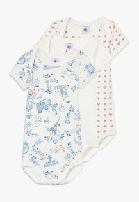 Petit Bateau - 3 PACK - Body - marshmallow/multicolour/peps - 0