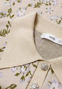 Mango - LILAS - Polo shirt - gris clair/pastel - 5