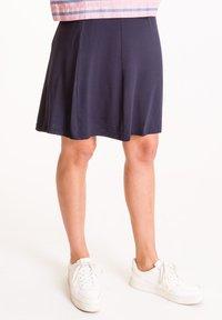 UVR Berlin - A-line skirt - marineblau - 2