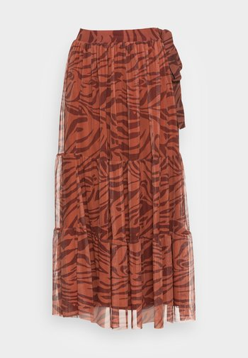 SKIRT PRINTED - A-line skirt - ginger spice