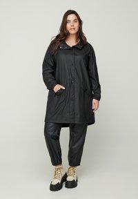 Zizzi - Waterproof jacket - black - 1