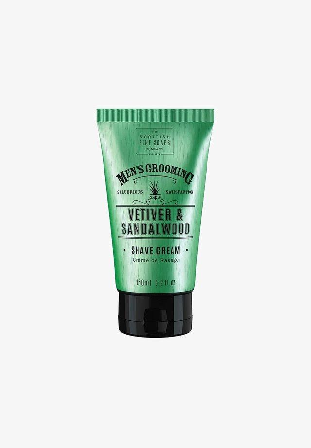 VETIVER   SANDELWOOD SHAVE CREAM 150 ML - Shaving cream - -