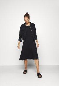 Zign - Jersey dress - black - 1