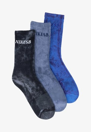 3 PACK - Socks - grey/blue