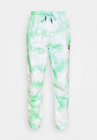 Missguided - PLAYBOY TIE DYE - Pantalones deportivos - mint - 4