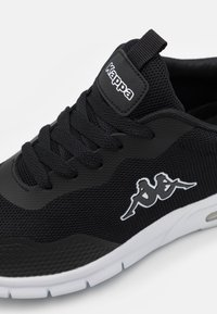 Kappa - CANBERRA UNISEX - Sportschoenen - black/white - 5